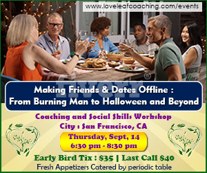 Sept 14 Making Friends & Dates Offline